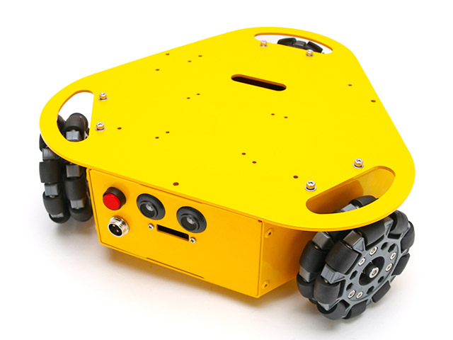 3WDオムニホイール台車ロボット